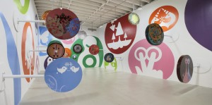 Ryan McGinness, installation view, 2005