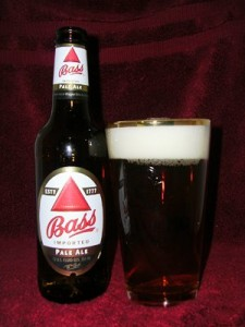 The first branded item was Bass ale.