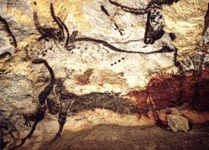 Cave paintings at Lascaux