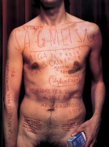 Sagmeister AIGA Detroit Poster